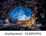 indian tunnel idaho inside lava ...   Shutterstock . vector #514091941