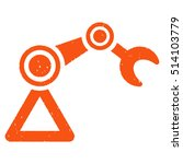 manipulator rubber seal stamp... | Shutterstock .eps vector #514103779