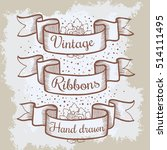 old hand drawn banner to...   Shutterstock .eps vector #514111495