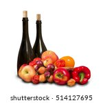 group of various fruits and...