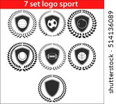 sport logo design illustration... | Shutterstock .eps vector #514136089