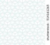 hexagon seamless background. | Shutterstock .eps vector #514161265