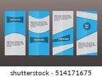 design elements presentation... | Shutterstock .eps vector #514171675