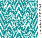 seamless abstract chevron ikat... | Shutterstock .eps vector #514175761