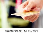 Close Up Of Credit Card In...