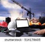 industry 4.0 and smart... | Shutterstock . vector #514178605