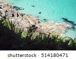 sea view at cornwall  england | Shutterstock . vector #514180471