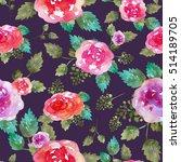 vintage floral seamless pattern ...   Shutterstock . vector #514189705