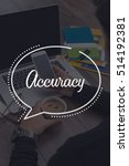 Small photo of BUSINESS COMMUNICATION WORKING TECHNOLOGY ACCURACY CONCEPT