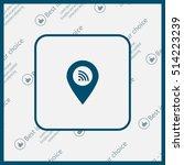 wifi pointer icon | Shutterstock .eps vector #514223239