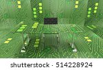 3d illustration of internet of... | Shutterstock . vector #514228924