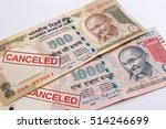 india canceled banknote. india... | Shutterstock . vector #514246699