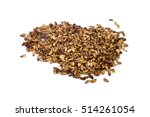 seeds of thistle isolated on... | Shutterstock . vector #514261054