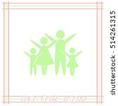 family vector icon | Shutterstock .eps vector #514261315