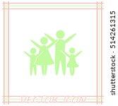 family vector icon | Shutterstock .eps vector #514261315