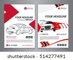 a5  a4 service car business... | Shutterstock .eps vector #514277491