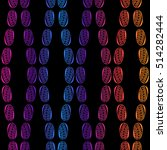 raster copy. seamless pattern... | Shutterstock . vector #514282444