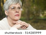 close up portrait of lovely...   Shutterstock . vector #514285999