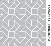 abstract geometric gray graphic ... | Shutterstock .eps vector #514290031