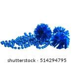 Blue Beads And  Christmas ...