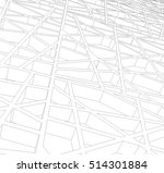 abstract architectural design | Shutterstock .eps vector #514301884