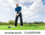 Asian Golfer Preparation To...