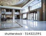 hotel lobby interior | Shutterstock . vector #514321591
