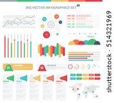 big vector infographics set | Shutterstock .eps vector #514321969