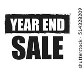 black year end sale... | Shutterstock . vector #514328209
