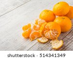 Tangerines  Peeled Tangerine...