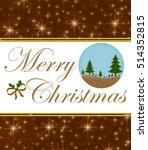 christmas card  | Shutterstock . vector #514352815