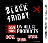black friday  big sale ... | Shutterstock .eps vector #514362235
