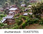 hsipaw 3 day hike to shan... | Shutterstock . vector #514373701
