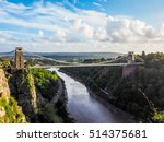 Hdr Clifton Suspension Bridge...