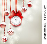 illustration new year magic... | Shutterstock .eps vector #514400194