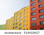 renovated and renewed complex... | Shutterstock . vector #514410427