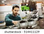 creative mechanical engineer... | Shutterstock . vector #514411129