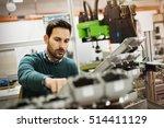 Creative Mechanical Engineer Working Machines - Fine Art prints