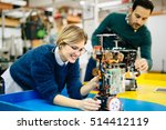 engineering and robotics... | Shutterstock . vector #514412119