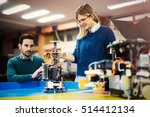 engineering and robotics... | Shutterstock . vector #514412134