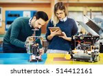 engineering robotics class... | Shutterstock . vector #514412161