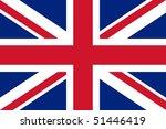 national flag united kindom | Shutterstock . vector #51446419