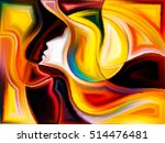 soul cutting series. abstract... | Shutterstock . vector #514476481