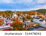 Montpelier  Vermont  Usa Autumn ...