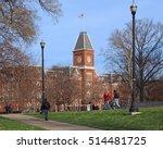 american college campus    Shutterstock . vector #514481725