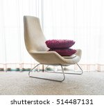 beautiful luxury pillow on sofa ... | Shutterstock . vector #514487131