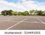 empty space parking lot outdoor ... | Shutterstock . vector #514491001