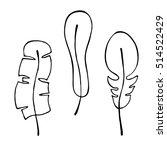 raster hand drawn illustration  ... | Shutterstock . vector #514522429