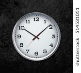 clock on the wall | Shutterstock .eps vector #514531051