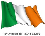 vector illustration of an irish ... | Shutterstock .eps vector #514563391